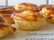 Tartelettes pommes terre, carotte d'oignon Soutien ronde interblog
