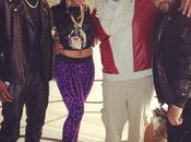 "tournage clip ""Pride Joy"" avec Ashanti, Kanye West, Miguel..."