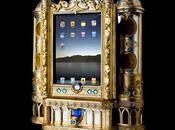 Dock iPad façon autel pour recueillir...