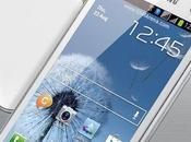 Galaxy Duos, appareil double puce design SIII fiche technique