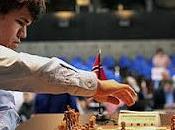 Échecs Bienne Magnus Carlsen près sacre