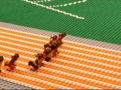 victoire d'Usain Bolt Lego