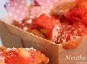 Mini-cakes régressifs fraises tagada leur crème toute rose