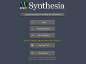 Apprendre jouer piano avec Synthesia