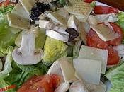 Salade copeaux Parmesan