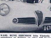 Rallye MonteCarlo 1960 avec Karl Rune Ericsson, pilote suédois