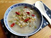 Soupe froide haricots mungo sucre candi 冰糖绿豆粥 bīngtáng lǜdòu zhōu