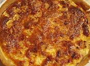 Quiche jambon/roquefort/poire