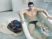 Michael Phelps prend pose pour Louis Vuitton