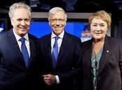 Élections Québec 2012 débat chefs- Jean Charest contre Pauline Marois...