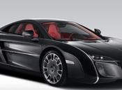 McLaren coupé inspiré Audrey Hepburn