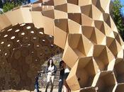 Pavillon alvéole étudiants Faculté d'Architecture l'Université Porto
