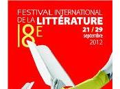 Programmation Festival international littérature