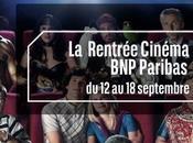 Rentrée Cinéma avec Paribas septembre 2012