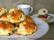 Scones cranberries pommes