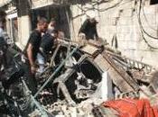 Syrie Attentat meurtrier amis François Hollande, près Damas, lors funérailles.