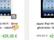 nouvel iPad promotion euros PriceMinister