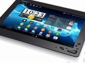 2012 nouvelle tablette Sony, l'Xperia Tablet résistante l'eau, télécommande universelle avec mode invité