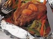Filet bœuf papillotes