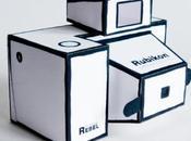 Sténopé RUBIKON papercraft
