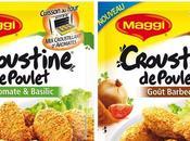 Maggi: échantillons gratuits CROUSTINE poulet