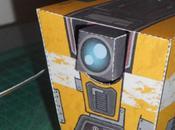 'Claptrap' Robot Papertoy Bryan