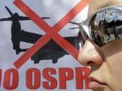 """Japon-Okinawa """"Nous voulons l'Osprey, l'avion plus dangereux monde"""""""