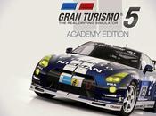 Gran Turismo Academy Edition, partir septembre