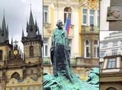 Place vieille ville l'horloge astronomique Prague.
