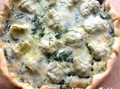 recette Artichaut Quiche artichauts épinards