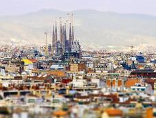 toits Barcelone