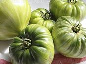 Quand tomates restent vertes variantes aigres-douces