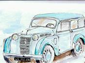 Renault juvaquatre bicolore