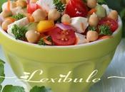 Salade pois chiche grecque