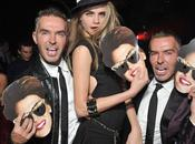 womensweardaily: Dean Caten with Cara Delevingne at...