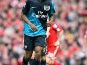 Arsenal Diaby trois semaines minimum