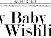 Baby Wishlist!