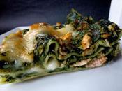 lasagnes épinards saumon chèvre frais