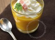 Cappuccino potiron, chantilly parfumée lard