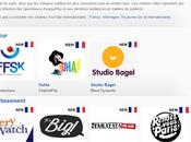 chaînes originales Youtube sont disponibles pour France