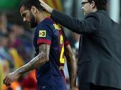 Barcelone Dani Alves blessé plus