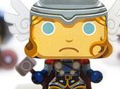 Mini papercraft Thor Santome