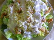 Salade césar avec tofu