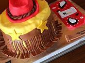 Gâteau d'anniversaire country