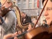 flashmob Star Wars d'un orchestre philharmonique