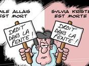 Emile Allais, Sylvia Kristel jour deuil