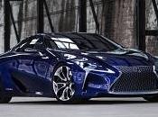 Lexus LF-LC Blue concept 2013 l'avenir bleu chez