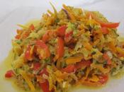 Spaghetti légumes moutarde l'ancienne