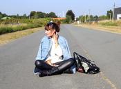 STYLE route avec legging huilé