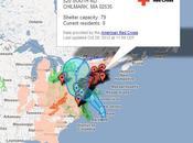 Google vous permet suivre l'ouragan Sandy